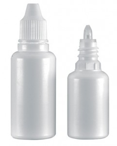 Eye drops bottles