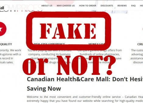 Canadian Health and Care Mall: Fake or Not